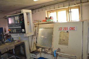 CNC soustruh