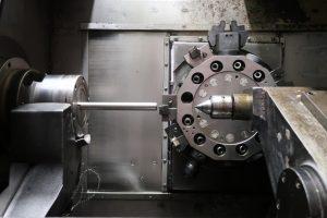 revolvérová hlava CNC soustruhu
