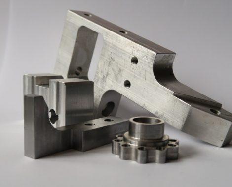 obrobky z CNC frézování